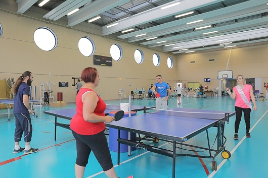 Gymnase - Tennis de table
