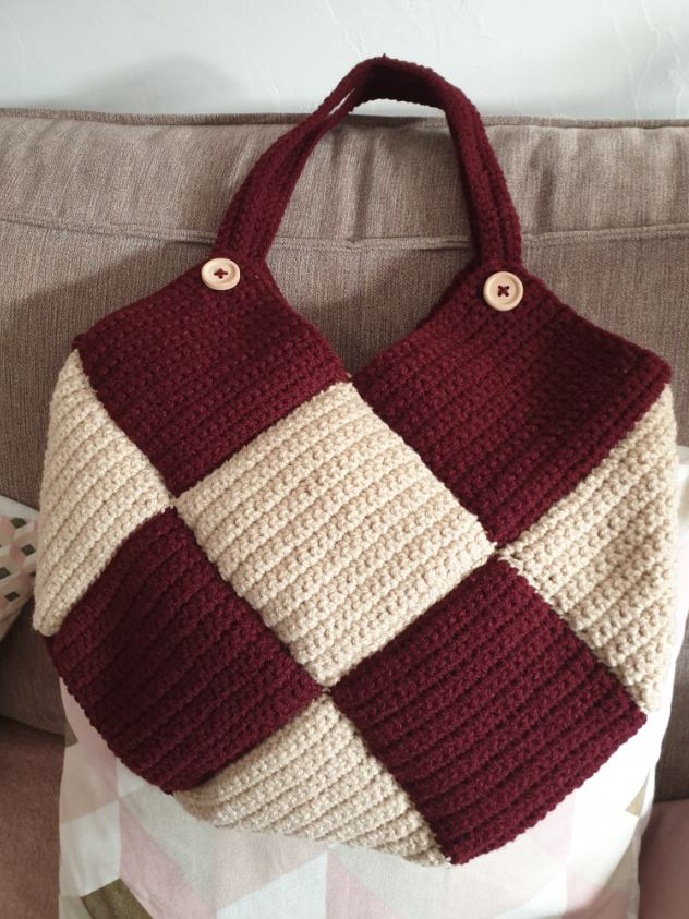 Confection de sacs au crochet